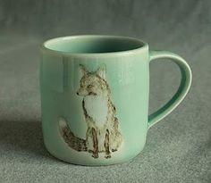 Fox Mug, @Christina Faux!