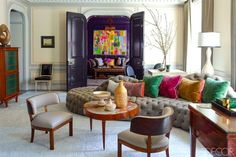 Steven Gambrel Manhattan Home - Manhattan Apartment Design