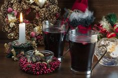 Glögg (Swedish Mulled Wine) - Apple cider may be used to make a White Glögg.