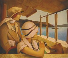 Fabio Hurtado, was born in Madrid in 1960.  Title: Montreux Morning -