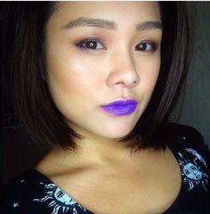 #purplelips #simple #makeup #asian