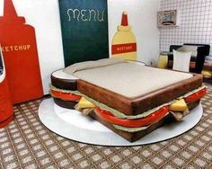 Funny Bed made by Cake - Funny Beds
