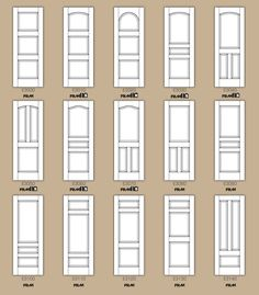 Std Interior Door Designs Part 2.