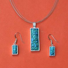 silver set with textures set polymer clay, silver, texture, pigment