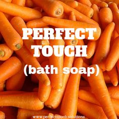 Christmas is in the air! Searching for the best Christmas gift? Perfect Touch carrot bath soap is one on the list! Best Christmas Gifts, Christmas Fun, Bath Soap, Searching, Carrots, Touch, Food, Best Christmas Presents, Search