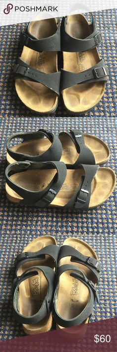 Birkenstock Birki's Black 37 Good condition. Comfy and support your feet. Birkenstock Shoes Sandals