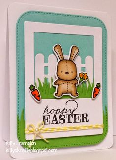 Made for Making Cards Magazine using Mama Elephant Honey Bunny Stamps.
