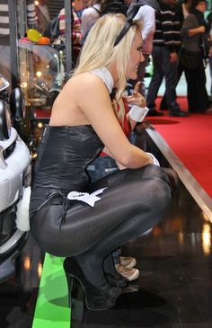 Think, that playboy shiny black pantyhose does