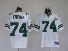 $25.00 Reebok NFL Jersey Green Bay Packers Aaron Kampman #74 White