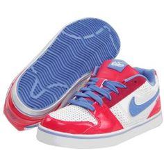 Nike 6.0 Kids - Ruckus Low Jr 6.0 (Toddler/Youth) (Cherry/White/Chalk Blue) - Footwear, $35.99 | www.findbuy.co