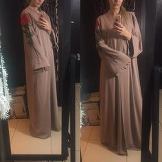 Abaya by OC fashion design . EID collection . Price :  AED - 950 USD - 260 EUR - 230 GBP - 185 SAR - 970 KWD - 80