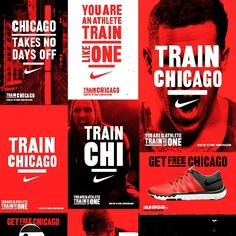 Big Shoulders For A Reason. Latest work for the swoosh rolling out! #trainchicago #nike #niketraining #ilovedust #typography #goodtype #flyposter #wheatpaste #ticketstothegunshow #Chicago #chitown