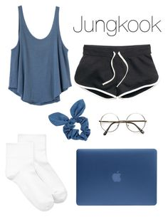 Bts Rainy Day In With Jungkook By Kxtlkh  E2 9d A4 Liked On Polyvore Featuring Rvca Incase Hue And Dorothy Perkins
