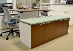 5 pieces of office furniture that can actually mukti-task. From the Perry blog. HON Voi Storage Bench