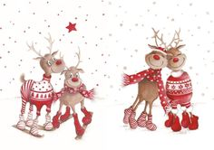 Linda Kristiansen's media statistics and analytics Christmas Scenes, Christmas Makes, Merry Christmas And Happy New Year, Christmas Border, Christmas Design, Christmas Drawing, Christmas Paintings, Christmas Graphics, Christmas Decorations