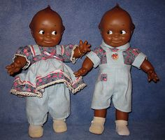Cameo Kewpie Doll Pair- Adorable dolls