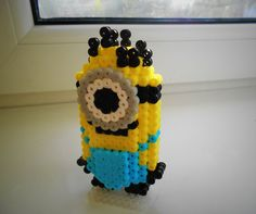 3D Minion Hama beads by GuildPerler (link to the video tutorial)
