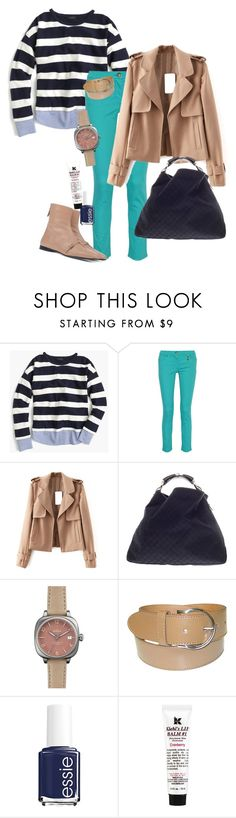 """""""window shopping with granny"""" by lila77 ❤ liked on Polyvore featuring J.Crew, Versace, N°21, Gucci, Shinola, Essie and Kiehl's"""