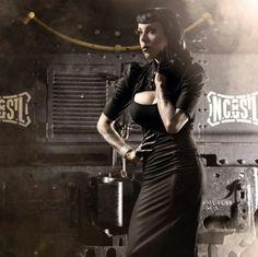 Dieselpunk girl by Andy Silvers