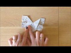 January 4, 2016 how to make an origami butterfly - YouTube Origami 2d, Simple Origami, Origami Butterfly, January 4, Youtube, Gifts, Presents, Favors, Youtubers