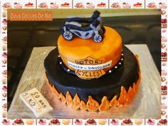 Gâteau Harley Davidson :