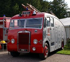 1953 Leyland Titan PD2 Water Tender/Fire Pump. 1950s European vehicles can be just too much fun.