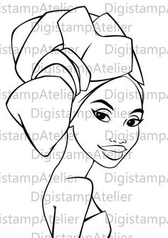Discover recipes, home ideas, style inspiration and other ideas to try. Black Women Art, Black Art, Coloring Books, Coloring Pages, Afrique Art, African Art Paintings, Paint And Sip, African American Art, Digi Stamps