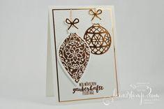 born2stamp STAMPIN' UP! INKSPIRE_me - Weihnachtskarte - Zauberhafte Zierde - Tannenzauber - Thinlits Am Christbaum - Thinlits Weihnachtsstruempfe