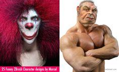 25 Creative and Funny ZBrush Character designs by Marcel. Read full article: http://webneel.com/25-astonishing-3d-character-designs-zbrush-models | more http://webneel.com/3d-models | Follow us www.pinterest.com/webneel