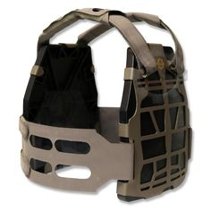 S&S Precision. Doing more with less, the PlateFrame's patent pending, lightweight, semi rigid plastic design provides a rigid mounting platform. The PlateFrame™ allows for easy attachment of accessory pouches and will accommodate standard MOLLE pouches. Weighing in at 1lb, 6oz (without ballistic plates), the maritime inspired PlateFrame does not retain any water due to the use of non hygroscopic materials and welded seams. PlateFrame™ - $381.05