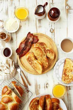Lavender Brioche French Toast (Joy The Baker) Brioche French Toast, Joy The Baker, Creamed Honey, Breakfast Time, Breakfast Ideas, Breakfast Recipes, Slice Of Bread, Food Photography, Breakfast
