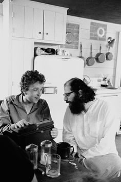 BOB DYLAN & ALLEN GINSBERG BY DOUGLAS R. GILBERT - FOREVER YOUNG