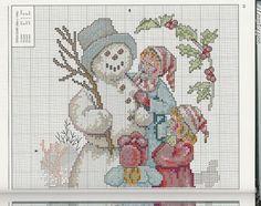 Children w snowman 2/3 Gallery.ru / Фото #54 - 2 - Fleur55555#feature=topscroll