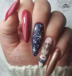 Best Winter Nail Art Ideas Yunshomes Com Winternaildesignideas Bestwinternaildesignideas Winternailartdesignideas Beste Winter Nail Art Ideen Yunshomes Com Winternaildesignideas Beste Winternaildesignideas Winternailartdesignideas - Besondere Tag Ideen Valentine's Day Nail Designs, Winter Nail Designs, Winter Nail Art, Acrylic Nail Designs, Winter Nails, Christmas Gel Nails, Holiday Nails, Cute Nails, Pretty Nails
