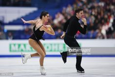 Valentina Marchei and Ondrej Hotarek of Italy compete in the Pairs Free Skating during day 2 of the European Figure Skating Championships at Ostravar Arena on on January 26, 2017 in Ostrava, Czech Republic. (Photo by Joosep Martinson - ISU/ISU via Getty Images)