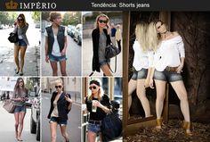 Para você que gosta de estar em dia com a moda, veja as tendências que inspiraram os shorts jeans da Império para o inverno 2013!