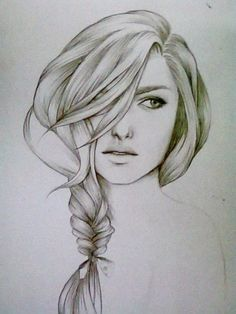 Drawing hair takes forever, but the result is worth it. :3