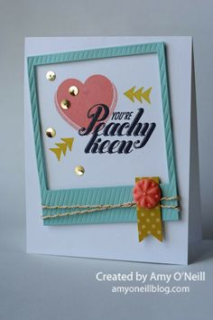 Fun use of Peachy Keen Stamp set