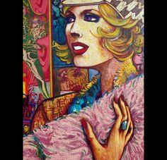 Marc Ferrero original art
