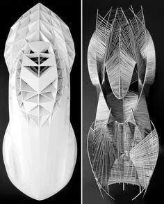 Mercedes Benz - Sculptures expérimentales