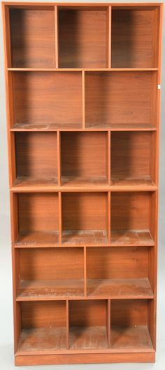 Peter Hvidt and O.M. Nielsen teak book cases ~ Realized Price $1,500.00