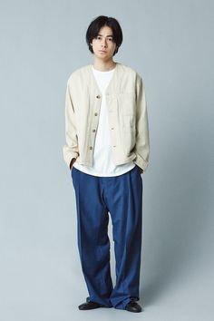 Summer Breeze, Asian Actors, Male Models, Normcore, Japan, Portrait, Stylish, How To Wear, Clothes