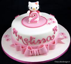Tutorial Hello Kitty e torta compleanno bimba | My Cake Design