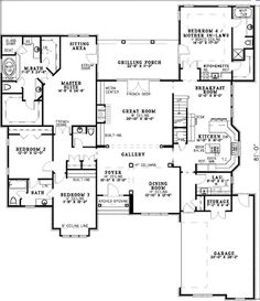 In law suite  Mother in law and In laws on PinterestGreat house plan   a mother in law suite