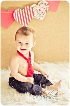 So cute for valentines day   NEWBORN - TODDLER Adjustable Baby Boy NECKTIE - Etsy.