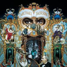 """Michael Jackson - Dangerous The creator of the cover of """"Dangerous"""" was the artist Mark Ryden. It took six months to end in. Much of the life of Michael Jackson is reflected in it both in pictures as symbols. Michael Jackson Dangerous, Mark Ryden, The Smashing Pumpkins, Music Album Covers, Music Albums, Rock Album Covers, Paris Jackson, Cd Rock, Illuminati"""