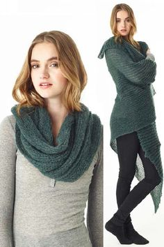 This #SussDesign shawl is extremely versatile and is easy to wear with anything in your closet.