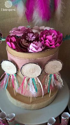 Dimequesi 's Quinceañera / Boho Chic - Photo Gallery at Catch My Party 15th Birthday, Baby Birthday, Baby Shower Parties, Baby Shower Themes, Tribal Baby Shower, Indian Party, Quinceanera Party, Boho Diy, Party Themes