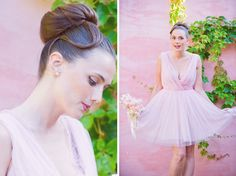Portugal pink spring wedding inspiration