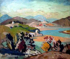 View of Portmeirion by John Cooper